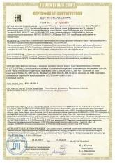 Сертификат соответствия на кабель силовой ВБШв, ВВГ, ВВГ-П 15.03.2020