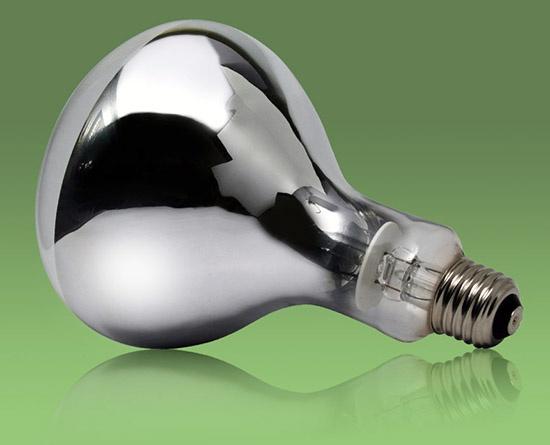 Инфракрасные лампы типы ИК лампочек для бытового использования и выбор
