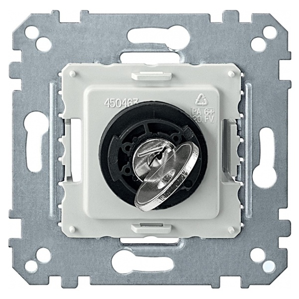 Schneider Electric MTN318699 Выключатель рольставней с управлением ключом(3 положения) Merten механизм (MTN318699) MTN318699