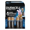 Батарейка Duracell AA LR6 MX1500 TURBO MAX (упаковка 4шт)