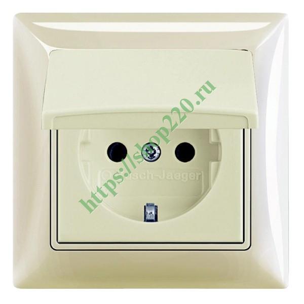 Купить Розетка IP44 ABB Basic 55 в сборе слоновая кость (20 EUCKD-92 ... 1b70c8408c9