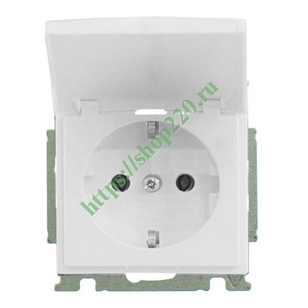 Купить Розетка IP44 ABB Basic 55 в сборе альпийский белый (20 EUCKD ... 0c499da1e39