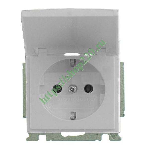 Купить Розетка IP44 ABB Basic 55 в сборе цвет белый шале (20 EUCKD ... ebc091d8c76
