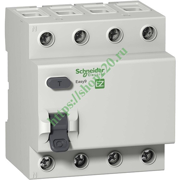 УЗО Easy9 4П 40А 300мА AC 230В Schneider Electric