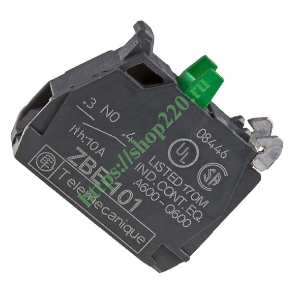 Контактный блок Schneider Electric ZBE101 1НО