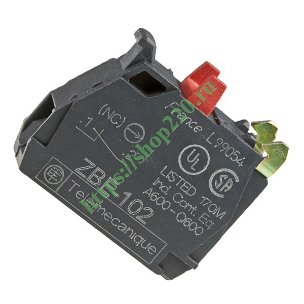 Контактный блок Schneider Electric ZBE102 1НЗ