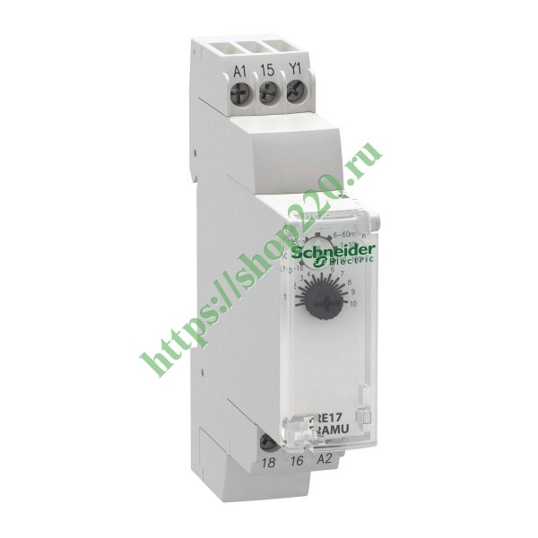 Реле времени Schneider Electric Zelio Time 0.1сек...10 час - 24..240 V AC - 1 OC