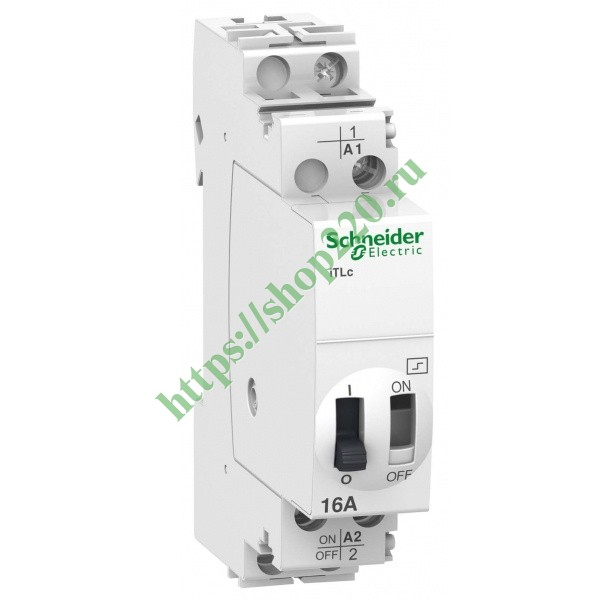 Импульсное реле с центральным управлением Schneider Electric iTLs 16A 1НО 230В