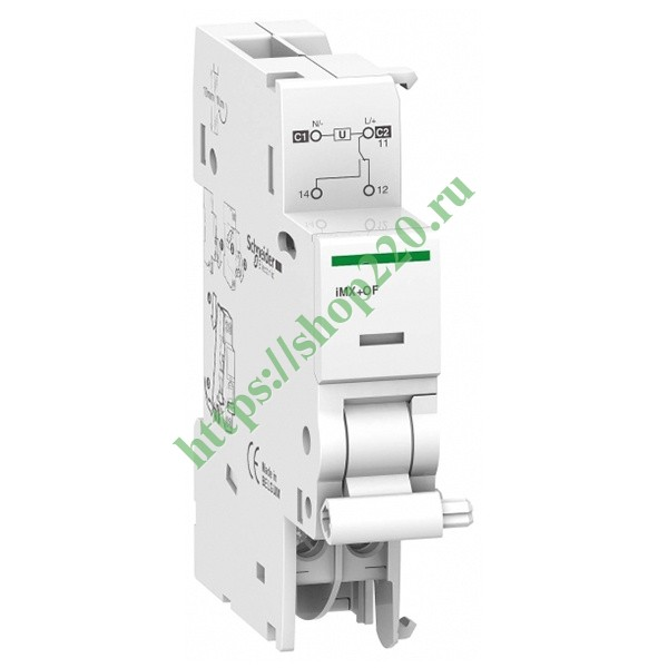 Расцепитель iMX+OF Acti 9 Schneider Electric 12-24В АС