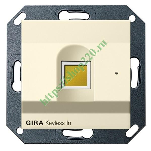 fingerprint gira system 55. Black Bedroom Furniture Sets. Home Design Ideas