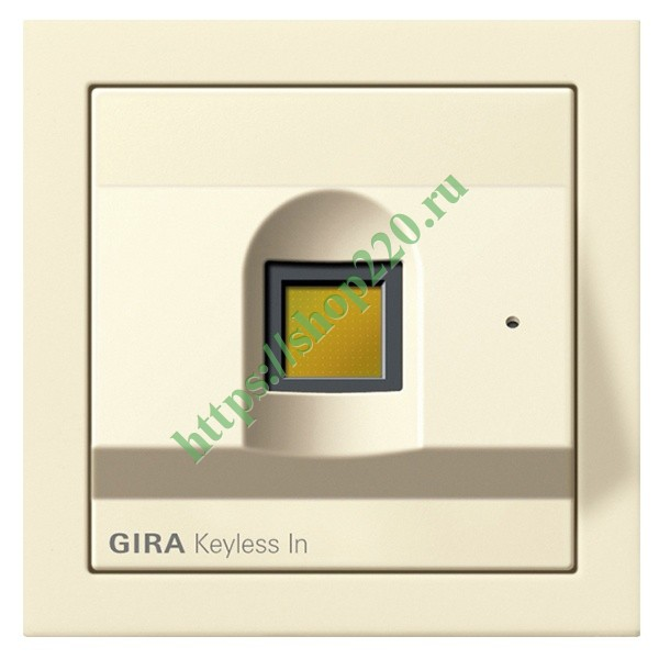 fingerprint gira f100. Black Bedroom Furniture Sets. Home Design Ideas