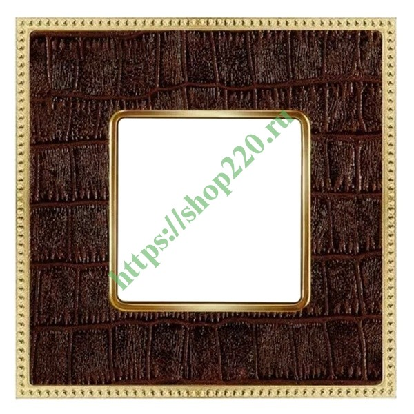 Рамка 1-ная Fede Belle Epoque Tapestry , alicocobrown-bright gold