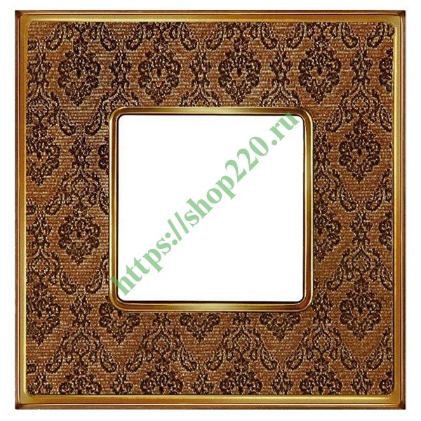 Рамка 1-ная Fede Belle Epoque Tapestry , decorbrass-bright gold