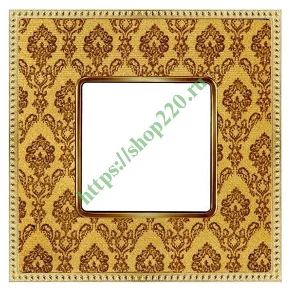 Рамка 1-ая Fede Belle Epoque Tapestry, decorgold-bright gold