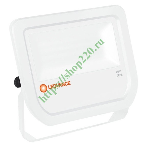 Светодиодный прожектор Ledvance FLOODLIGHT LED 50W 3000K WHITE IP65 5250Lm 100° L155x180x46mm Osram