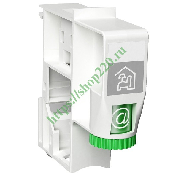 Коннектор RJ45 для S-ONE на DIN-рейку Schneider Electric Pragma