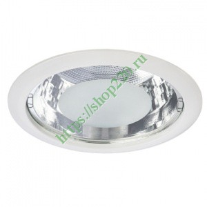 Светильник Downlight TL08-09 2хE27 d225 белый
