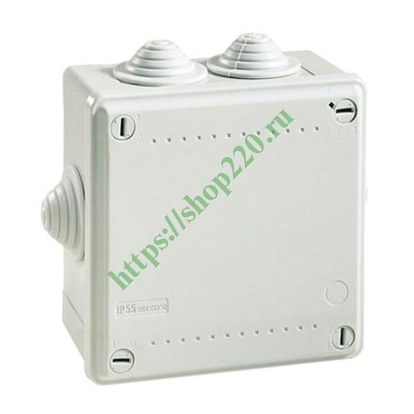 Купить Коробка распределительная DKC Express 100х100х50мм IP55 с кабельными вводами 53800 по цене 108.74 р. в наличии vdl44300