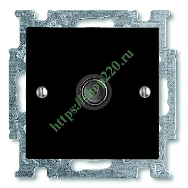 Купить Розетка телевизионная ABB Basic 55 цвет черный (1743-01-95 ... f2e2c590a1f