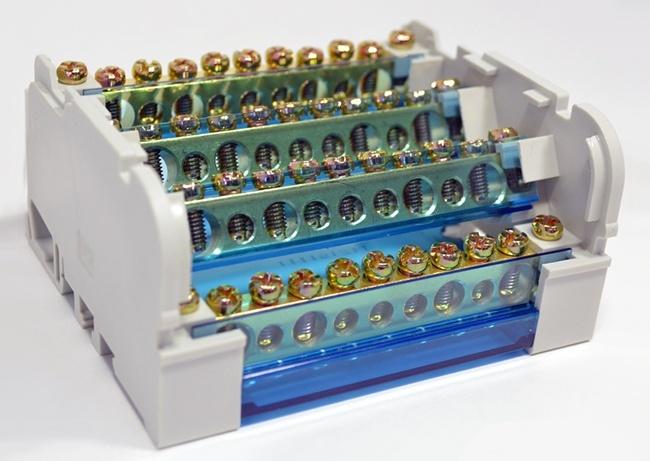 Модульные распределительные блоки (кросс-модули)