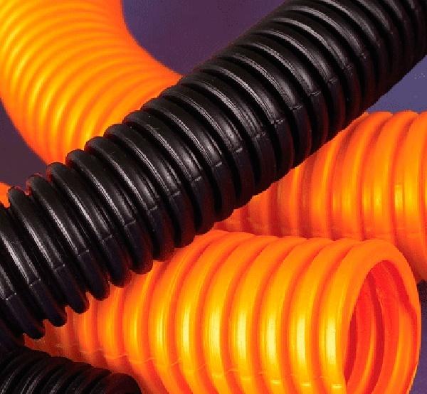 Пластиковые трубы для кабеля